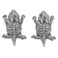 Horned Toad Earrings