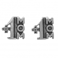 #1 Mom Earrings