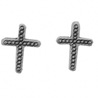 Cross w/dots Earrings