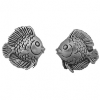 Fish, Angelfish Earrings